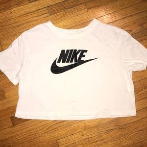Nike Athletic Cropped Tee